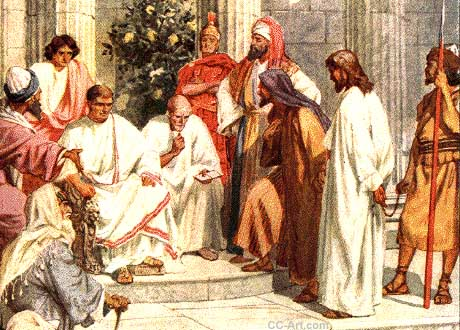 Jesus is Tried by Pilate